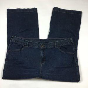 Lane Bryant Slim Boot Jeans Womens Plus Size 26